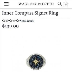 Waxing poetic ring